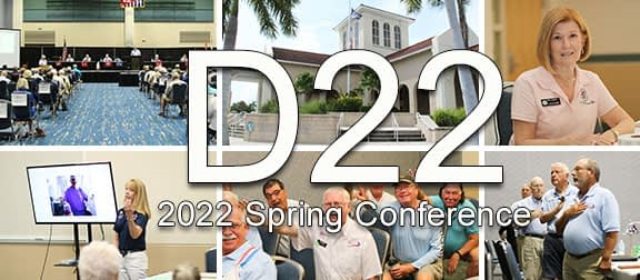 D22 2021 Fall Conference Picture Collage