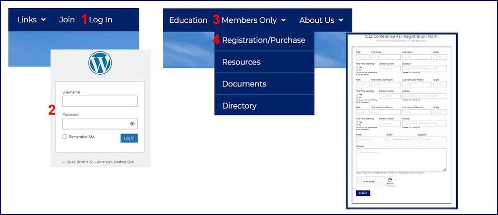Registration Form Instructions Image