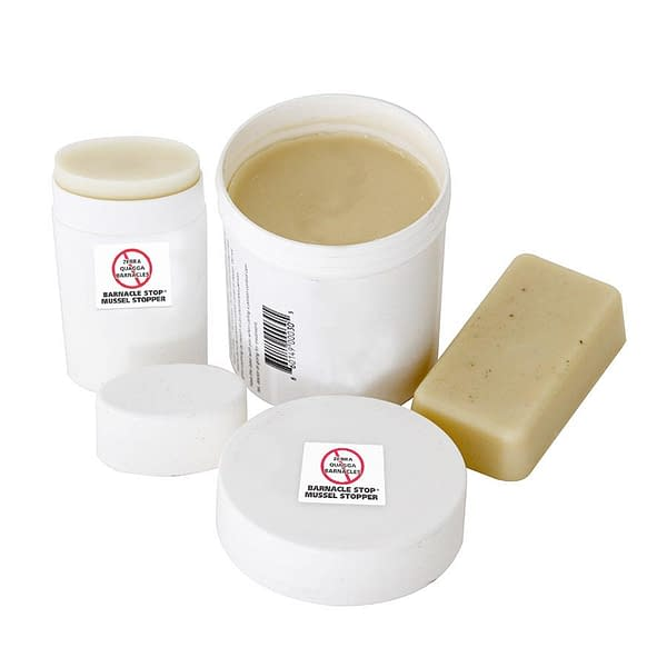 Barnacle Stop / Mussel Stopper applicator tub and crayon