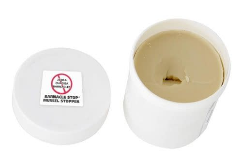 Barnacle Stop / Mussel Stopper tub open